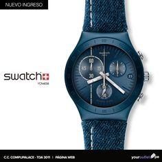 Viste lo mejor de Swatch este fin de mes. Visítanos en Compupalace o haz tu compra en nuestra web.