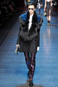 Dolce & Gabbana Fall 2011 Ready-to-Wear Collection Slideshow on Style.com