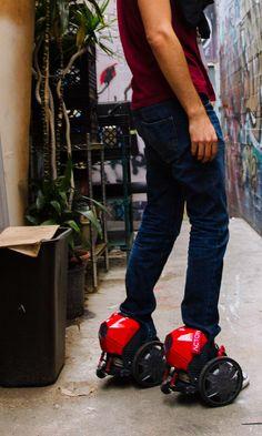 "ACTON | RocketSkates & M Scooter ""World's Lightest & Smallest Wearable Skates"""