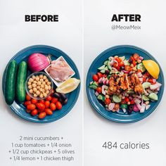 Healthy Recipes Fast, easy and delicious Greek inspired dinner or lunch Because eating clean makes me feel good! - Health and Nutrition Healthy Meal Prep, Healthy Snacks, Healthy Eating, Healthy Recipes, Simple Recipes, Healthy Habits, Healthy Carbs, Fitness Meal Prep, Carbs Protein