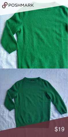 Talbots Cashmere 3/4 Sleeve Crewneck Sweater Measurements coming soon! Talbots Sweaters Crew & Scoop Necks
