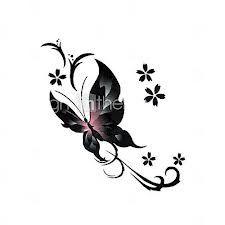tattoo vlinder en letters - Google zoeken Más