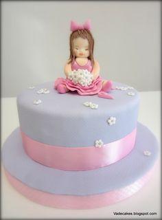 Ballerina Cake by Vadecakes