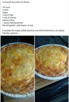 Tuna tert Quiche Recipes, Tart Recipes, Dessert Recipes, Cooking Recipes, Tuna Dishes, Fish Dishes, Tinned Tuna Recipes, Kos, Savory Snacks