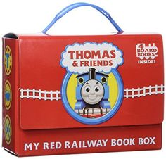 Awdry - Thomas and Friends: My Red Railway Book Box (Bright & Early Board Books) Benny And The Jets, Thomas And Friends Toys, Good Books, My Books, Amazing Books, Play Vehicles, Blue Train, Fiction And Nonfiction, Thomas The Train