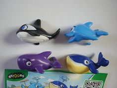 Kinder Surprise Set  Natoons Marine Animals by KinderSurpriseToys