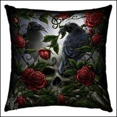 Coussin Gothique Romantique Sorrow for the Lost Style Rock, My Style, Sombre, Witch House, Decoration, Gothic, Lost, Victorian, Punk