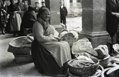 'The Bread Seller - Mondonedo, Spain' by Ruth Matilda Anderson, May 1925