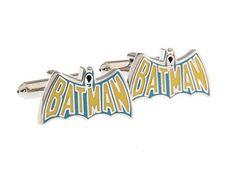 Mancuernillas Batman Logo
