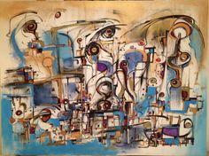 "Saatchi Art Artist Ric Grossman; Painting, ""Summer of Enlightenment SOLD"" #art"