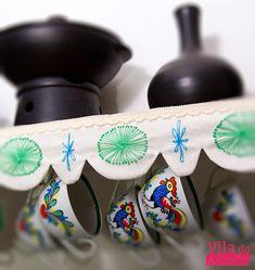 Tutorial Vila do Artesão - Barrado de tecido para prateleiras, como fazer - Régua de barrado