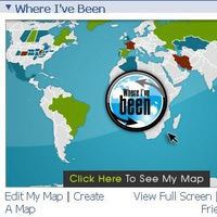 """How to Add Locations to Facebook's """"Where I've Been"""" Map: Facebook Where I've Been Map"""