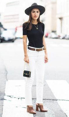 If your'e a short girl avoid long tops, and tuck your shirts in any time you can to lengthen your frame.