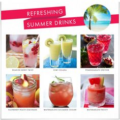Refreshing Summer Drink Recipes!