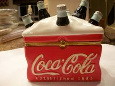Coca Cola Ice Cooler Large Trinket Box by THEPARISBOUTIQUE on Etsy