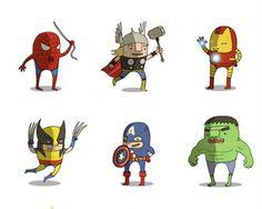 Ben Scruton - Superheroes