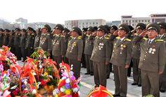 위대한 수령 김일성동지의 탄생 105돐을 온 나라가 성대히 경축