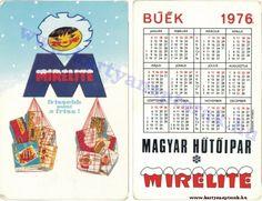 1976 - 1976 0096 - Régi magyar kártyanaptárak