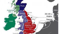 DNA Map of England Shows Who's Your Great-Grandpa, Too The first in-depth genetic scan of the British Isles shows their violent history of invasion after invasion lives on in the people. Uk History, European History, British History, World History, Family History, Scotland History, American History, Dna Genealogy, Family Genealogy