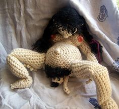Educational Child Birth Doll – Yep, Seriously – Crochet