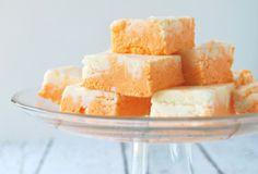 Dreamy Orange Creamsicle Fudge