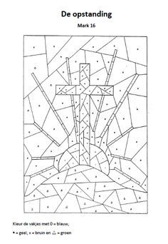 Download or print Jesus Carrying Cross dot to dot