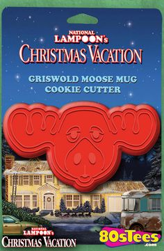 Bake with this super cool National Lampoons Christmas Vacation Griswold Moose Mug Cookie Cutter to add some fun to your kitchen. The cookie cutter is shaped like the iconic moose mug from this classic movie. Griswold Christmas Vacation, Lampoon's Christmas Vacation, Christmas Movies, All Things Christmas, Christmas Ideas, Tacky Christmas, Christmas Parties, Xmas Party, Christmas 2017