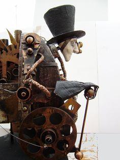 Steampunk art - Eerie & Intriguing