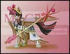 Battle Armored Twilight Sparkle by InuHoshi-to-DarkPen on deviantART