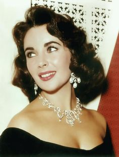 Liz Taylor, she was the last goddess of the Hollywood's Golden Age.  The girl with the violet eyes
