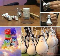 Как сделать елочные игрушки: шары, снежинки и многое другое своими руками, мастер классы по созданию новогодних елочных игрушек с пошаговыми фото и описанием. Фото №20