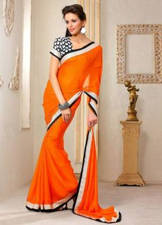 Jashn latest Sarees designs collection for girls and women 2015 lunched - Find new styles of Saree by Jashn with new touch.