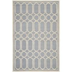Safavieh Cambridge Silver/Ivory 8 ft. x 10 ft. Area Rug-CAM138D-8 at The Home Depot