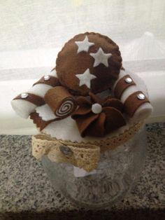 Per decorare i coperchi dei vasetti Dal web Gingerbread Cookies, Sweet, Desserts, Fabric, Food, Feltro, Tejido, Ginger Cookies, Postres