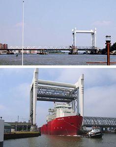 Hef-spoorbrug over de Oude Maas, Dordrecht