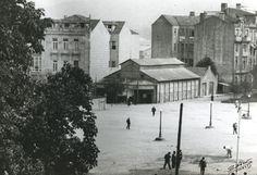 Ideal Cinema (Salón Ideal Cinema o Cinema Ideal) en la Plaza de Compostela. Foto: Archivo Pacheco.