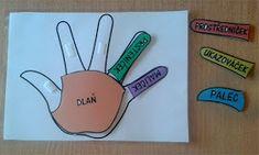 Pro Šíšu: Prsticky 4 Kids, Children, Folder Games, Book Activities, Human Body, Montessori, Jin, Kindergarten, Preschool