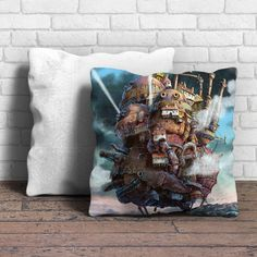 Howl'S Moving Castle Pillow | Aneend