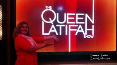 Hanging Out with The Queen at The Queen Latifah Show
