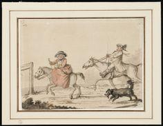 Coxheath Ho! Ca. 1779 (?), Lewis Walpole Library Digital Collection