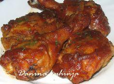 Danina kuhinja: Marinirana pečena  piletina