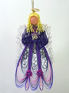 *QUILLING ~ angel