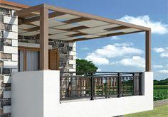modern pergola | Modern Pergola- Polycarbonate Pergola Roofing Sheets