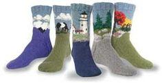 Landscape Socks