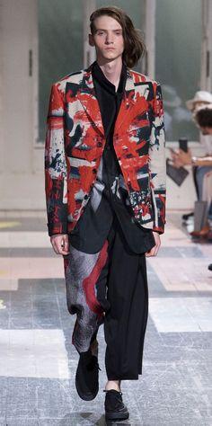 Yohji Yamamoto Spring 2017 Menswear