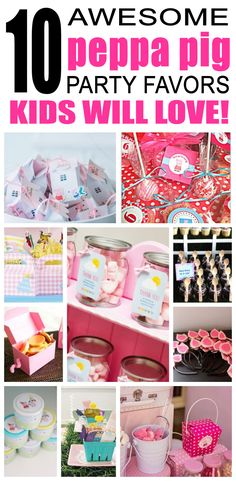 Great peppa pig party favors kids will love. Fun and cool peppa pig birthday party favor ideas for children. Easy goody bags, treat bags, gifts and more for boys and girls. Get the best peppa pig birthday party favors any child would love to take home. Loot bags, loot boxes, goodie bags, candy and more for peppa pig party celebrations.