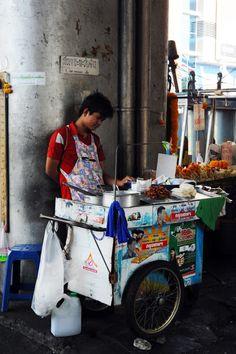Street Food Vendor in Thailand #Expo2015 #Milan #WorldsFair