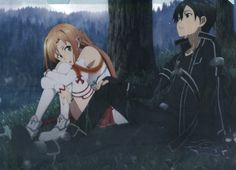 Sword Art Online SAO clear file folder official Japan Kirito / Kirigaya Kazuto Asuna / Yuuki Asuna