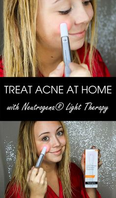 Enjoy the benefits of light therapy technology at home! I use the @Neutrogena Light Therapy Acne Spot Treatment (avail. at @Walmart) to keep my skin clear and beautiful. Check out how I use it here!  #ad #NeutrogenaLightChallenge