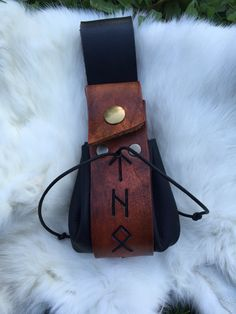 leather thors pouch